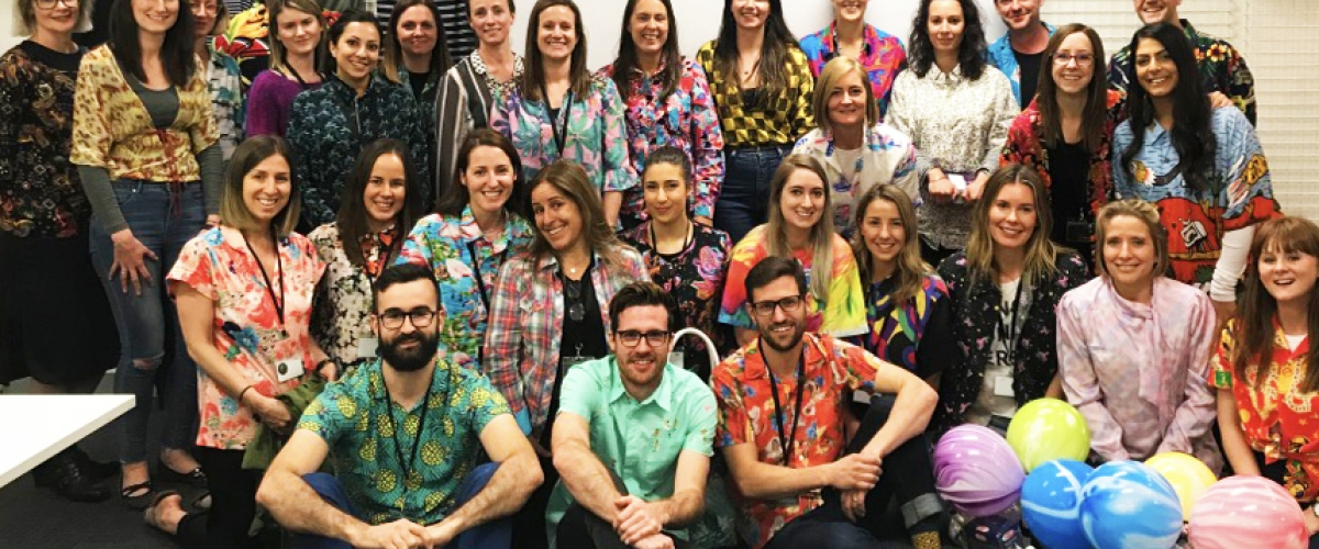 Jeanswest Melbourne enjoying Loud Shirt Day 2017
